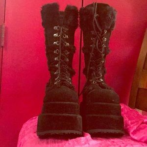Shoes - Awesome monster high boots worn once!